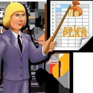 Выполнение плана продаж